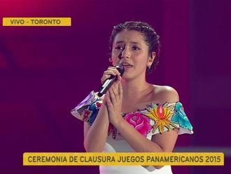 Panamericanos 2015: Himno Nacional del Perú retumbó en ceremonia de clausura