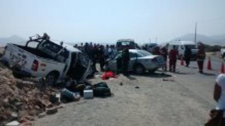 Lambayeque: dos agricultores fallecen en accidentes de tránsito
