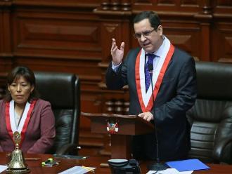 Luis Iberico garantiza gobernabilidad y estabilidad desde el Congreso