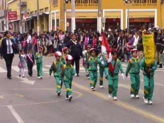 Ica: instituciones disputarán en desfile el Sol Radiante este 28 de Julio