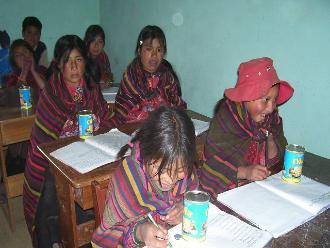 Lambayeque: delincuentes dejan sin alimentos a niños de la zona andina