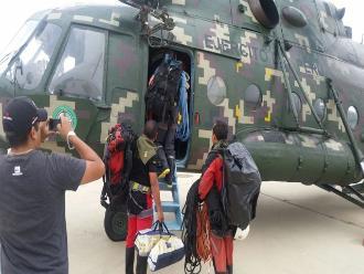 Piura: continúan labores de búsqueda de desaparecidos en Huancabamba
