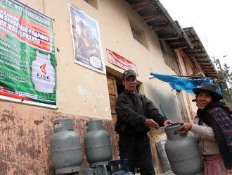 Humala: Un millón de peruanos compran un balón de gas barato