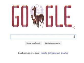 Google celebra el Día de la Independencia del Perú con un doodle