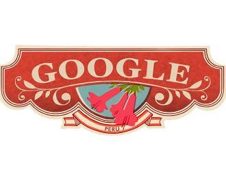 Google nos dedicó estos doodles por Fiestas Patrias