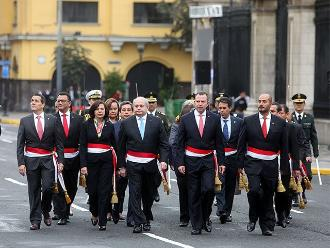 Poder Ejecutivo envió saludo a todo el país por Fiestas Patrias