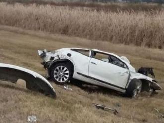 Diego Barisone: Así quedó el auto en el que se mató