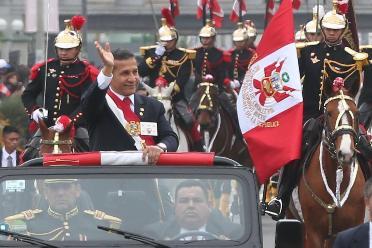 Fiestas Patrias: El presidente Humala da inicio al desfile Cívico Militar