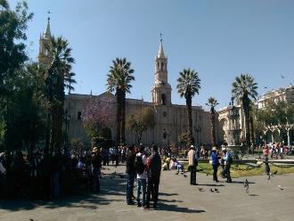 Arequipa: familias visitan atractivos turísticos por Fiestas Patrias
