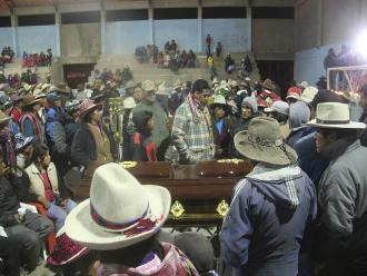 Cusco: víctimas de accidente en Livitica son velados en local municipal