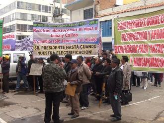 Amazonas: ciudadanos de Pomacochas rechazan paso de juzgado a Jumbilla