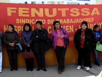Huancayo: asistenciales de salud convocan a paro de 72 horas