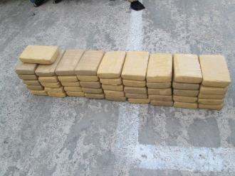 Cusco: incautan 20 kilos de droga en Quebrada-Calca