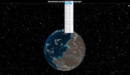 Ancient Earth muestra cómo era la tierra hace millones de años