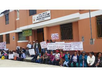 WhatsApp: Pobladores de Amazonas protestan por traslado de juzgado