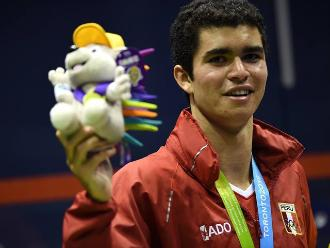 Diego Elías retuvo el campeonato mundial juvenil de squash en Holanda
