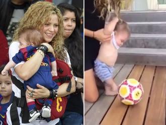 Facebook: Sasha, hijo de Shakira, demuestra sus dotes de futbolista