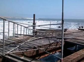 La Libertad: olas de 2.3 se registran en litoral de Pacasmayo