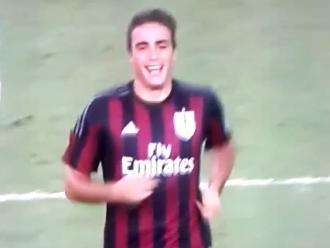 Real Madrid vs. AC Milan: Alessandro Matri pasó vergüenza en amistoso