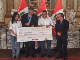 Ollanta Humala y Francisco Boza juntos tras el escándalo Belaunde Lossio