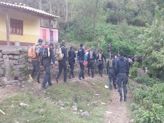 Ayabaca: clima condiciona traslado de cadáveres a Piura