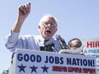 EEUU: Sanders confía en batir a Clinton con una revolución política