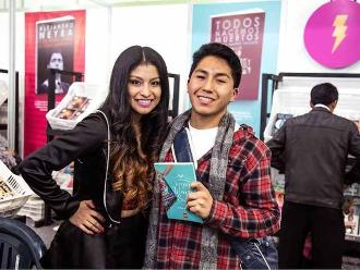 FIL Lima 2015: Wendy Sulca se reencontró con sus seguidores