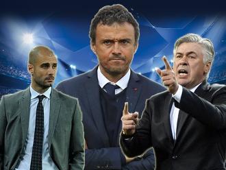 Luis Enrique, Guardiola, Ancelotti y los mejores entrenadores del mundo