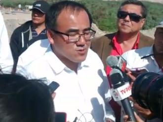 Mollendo: Ministro de Transportes visitó obras en Islay y Matarani