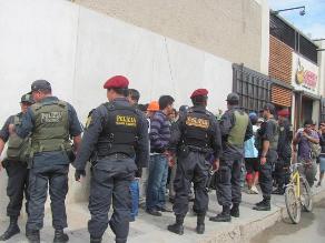 Chiclayo: disponen seguridad para dirigentes de construcción civil