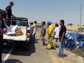 Piura: un muerto y once heridos dejó accidente de tránsito