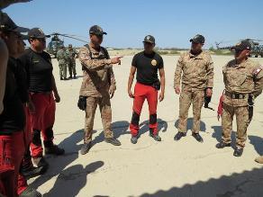 Ayabaca: Así colabora el Ejército con operación de búsqueda de desaparecidos