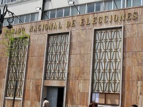 JNE: aún no hay candidatos oficiales a la Presidencia de la República