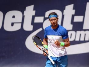 Rafael Nadal avanzó a final del ATP de Hamburgo pese a lesión en el pecho