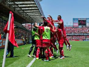 Toluca, con Christian Cueva en cancha, derrotó por 2-1 a Pumas
