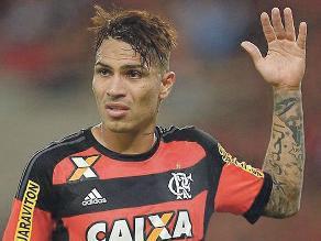 Con Paolo Guerrero en el campo, Flamengo empató 2-2 con Santos