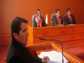 Puno: proclaman a expresidente regional como precandidato presidencial