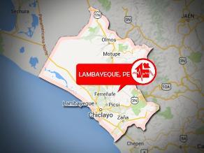 Un sismo de 4.4 grados se registró en Lambayeque