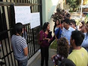 Arequipa: alumnos de I.S. Honorio Delgado inician huelga de hambre