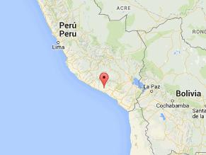 Sismo de 4,1 grados en la escala de Richter se registró en Arequipa