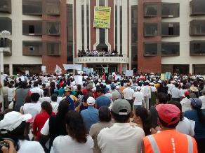 Chiclayo: piden inspección de INDECI para evitar desalojo en Moshoqueque