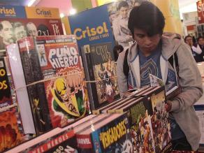 Feria del Libro de Lima acogió a medio millón de visitantes este año