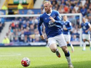 Wayne Rooney vistió la camiseta del Everton en homenaje tras 11 años