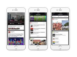 Facebook prueba función para transmitir eventos en vivo