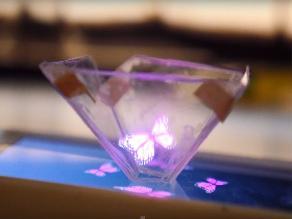 YouTube: mira cómo convertir tu smartphone en un proyector de hologramas 3D
