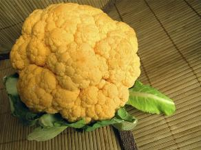 La coliflor es más rica en antioxidantes en sus hojas