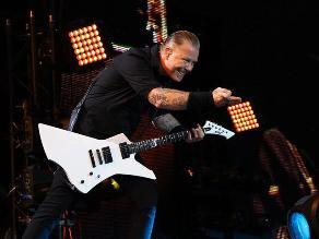 James Hetfield: 10 canciones favoritas del vocalista de Metallica