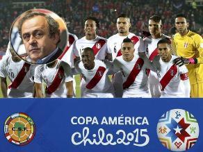 Michel Platini: Si es presidente la FIFA Perú tendrá más opciones de ir al Mundial