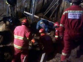 Puno: albañil muere aplastado por un muro de contención