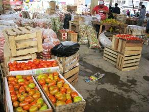 Chiclayo: precio de verduras sube en S/. 0.20 y S/. 0.50 céntimos